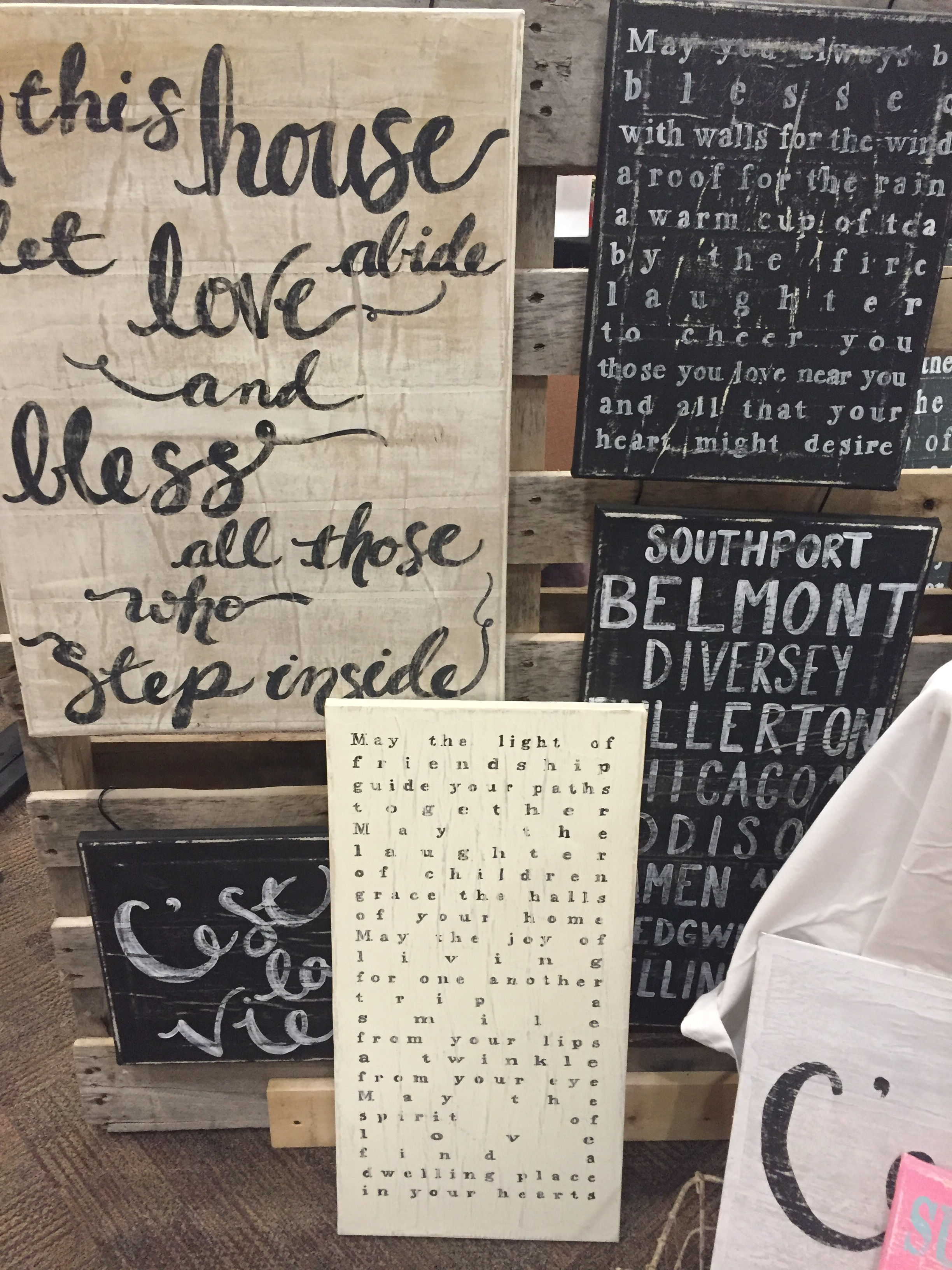 Craft Show Display Ideas A Little Letter Design