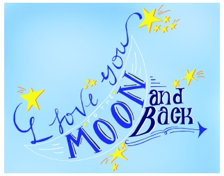 Moon&BackPrint